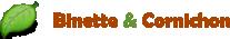 site Binette et cornichon pour le potager Logo